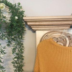 Brandy Melville Sweaters - Brandy Melville mustard Ollie